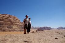 Ein Paar in Jordanien ;)