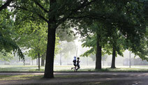 Laufcoaching an der Alster und im Stadtpark in Hamburg