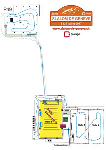 Streckenplan Genève