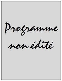 Programme  PSG-Inter Milan  2016-17