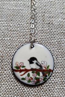 ---  Chickadee In The Crabapple Tree  ---