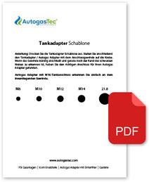 Autogas-Adapter-Minibetankung