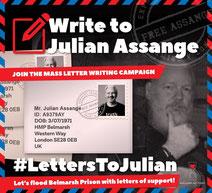 Schreiben an Julian Assange