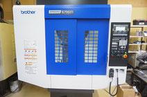 大阪でブラザー 小型マシニングインデックス付きを使い加工してます。