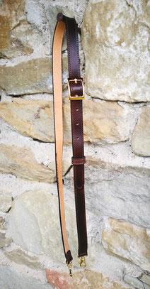 tracolla per borsa da donna marrone