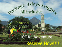 Arenal Adventure Package