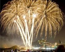 Бланес, фейерверк в Бланесе, праздник в Бланесе, достопримечательности Бланеса, пляж в Бланесе