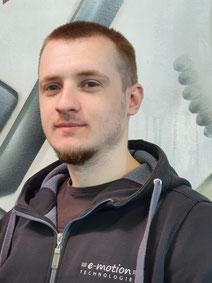 Alexandr aus dem Dreirad-Zentrum Hamburg