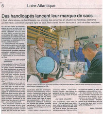 Article 15marins sur Ouest-France - lundi 21 avril