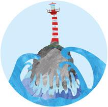 Leuchtturm |Für Dein Projekt | paperfjord | Johann Lewy