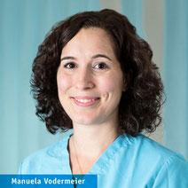 Manuela Vodermeier, Medizinische Fachangestellte, on* Orthopädie Neuhausen München