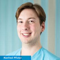 Manfred Pfister, medizinischer Fachangestellter, Orthopädie Neuhausen, München