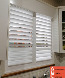 PVC Shutters with U channel