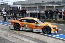 40 Jahre BMW M Reunion am Ring 2012 und DTM Test Alex Zanardi