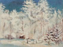 Зимний пейзаж в Таганроге.