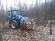 Holz Bündeln