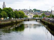 アイルランドのコークの街