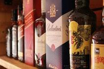 ウイスキーのボトル画像