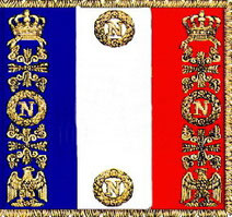 drapeau Français sous Napoleon III