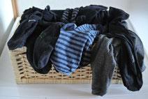 Nie wieder Socken suchen - 5 Lösungen für Sockenprobleme