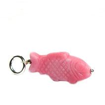 hangefertigte Glasperlenanhänger für Halsketten