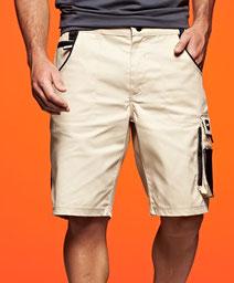 Bermuda, Workwear Shorts - Strong, Elastischer Bund mit Gürtelschlaufen, robuste 3-fach Naht, verbesserte Verarbeitung, 60° waschbar, Größe 62, Steiermark, Stickerei Graz Umgebung,  Berufsbekleidung, Berufskleidung