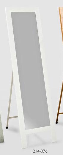 Espejo rectangular de color blanco
