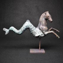 Seepferd | Bronze | Alexandra Kapogianni-Beth | www.bildhauerwerke-ak.de