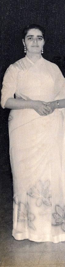 Perviz Kelkar - Sept.1956. Cropped image, - courtesy of Mani Kelkar