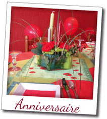 decoration aniversaire