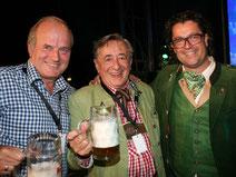 Mörtel Richard Lugner beim Oktoberfest in Lieboch