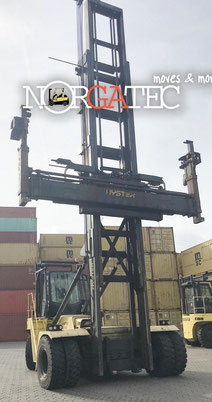 container forklift Hyster - container handler port Hamburg