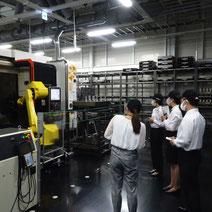 夏期インターン MST 採用 工場見学