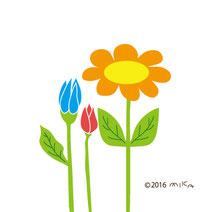 花のイラストのページへ