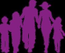 assurance famille couple enfant homme femme comparateur comparatif violet