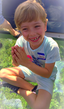 Onze lieve zoon Peyton die ook is opgegroeid met Reiki❤️