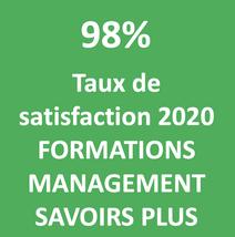 98% de stagiaires satisfaits en 2020 SAVOIRS PLUS