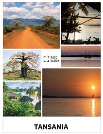 Leinwanddruck Tansania