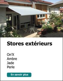 Stores extérieurs