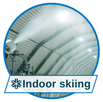 Matching snow for every use, snowmaking in Indoor skiing