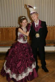 Kinderprinzenpaar 2012 Katharina I. & Andreas I.