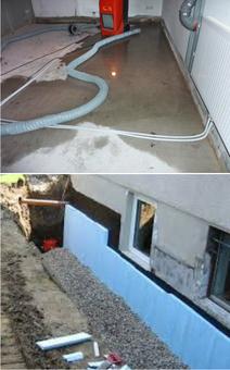 Keller im Hochwasserbereich