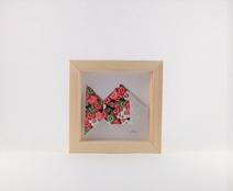 Cadre mural origami Poisson décoration chambre d'enfant cadeau naissance