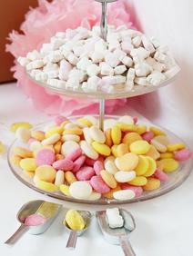 Candy Bar selber machen Etagere