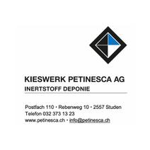 Sponsor Kieswerk Petinesca Thaterverein Worben