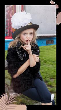 Stylist voor kinderfotoshoots voor commerciele en fashion fotoshoots