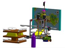 Cliquez sur l'image pour découvrir le projet de trophée de robotique.