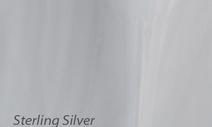 Wannenfarbe Sterling Silver