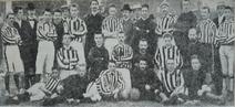 Mannschaftsfoto Borussia/KCfR nach dem Spiel gegen Solingen