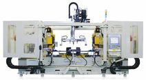 CNC 12DF-D Doppelspindel-Maschine mit 12 t Kraft von U-Jin Tech Corp